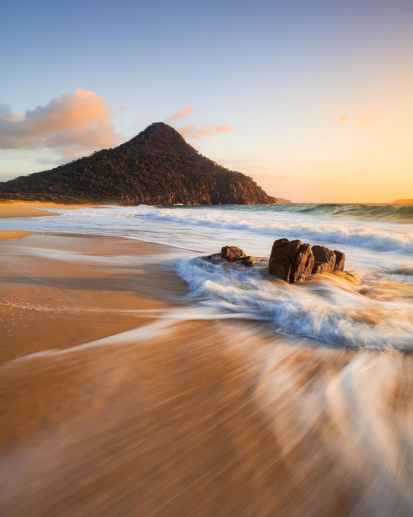 NiSi Filters Zenith Beach Port Stephens Mt Tomaree New South Wales Australia