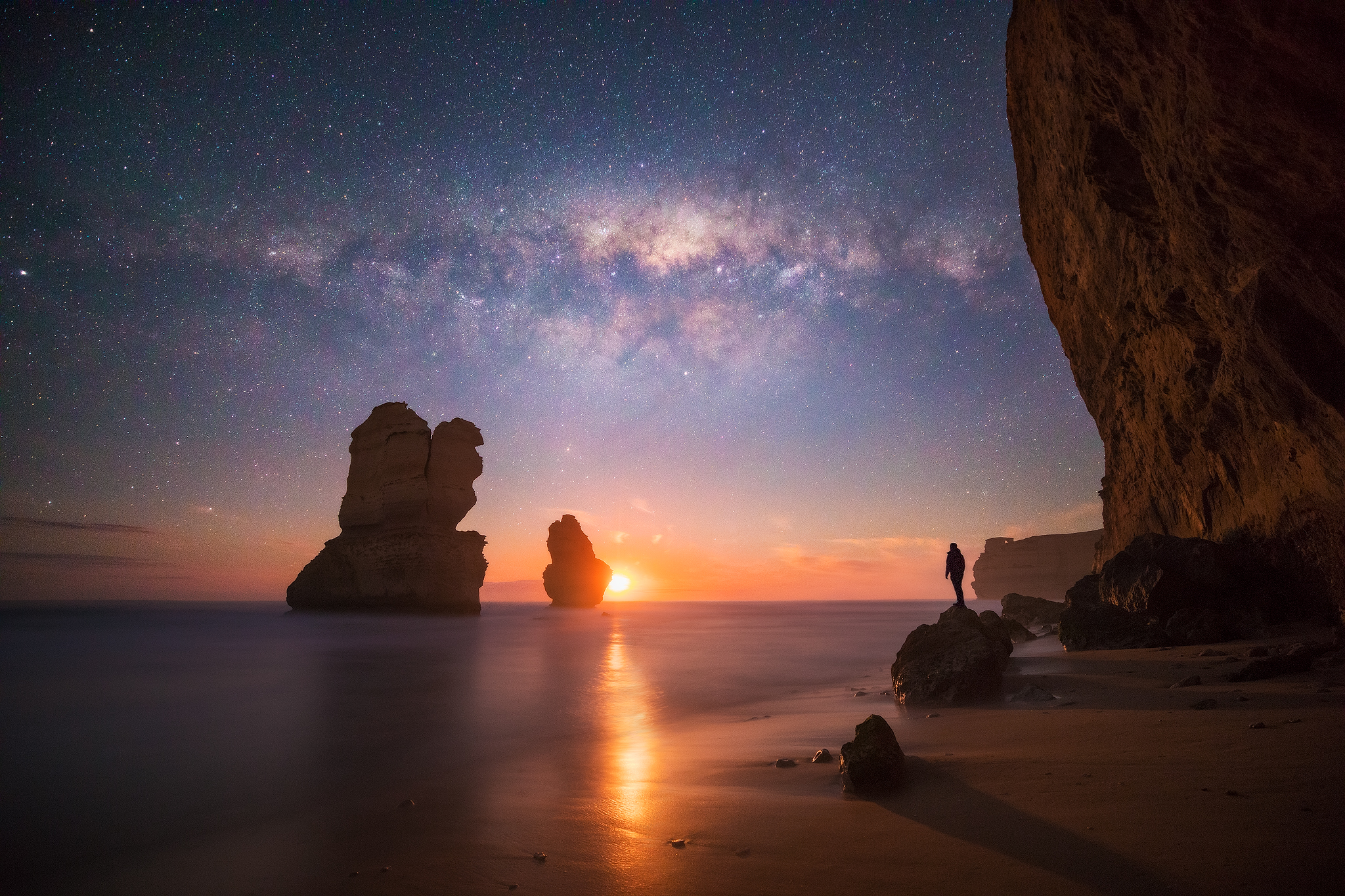 Great Ocean Road Victoria Melbourne NiSi Filters Australia Gibson Steps Seascape Photography Astrophotography