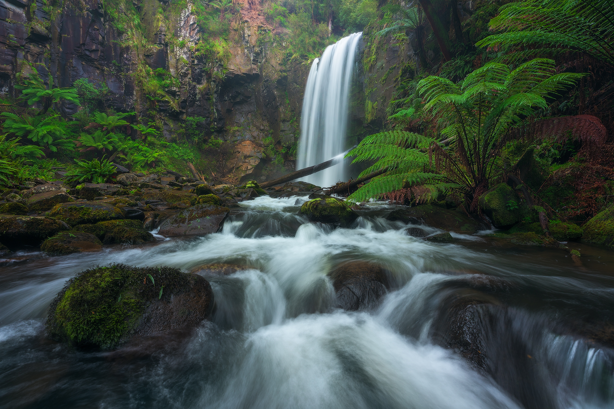 Great Ocean Road Victoria Melbourne NiSi Filters Australia Hopetoun Falls Waterfall