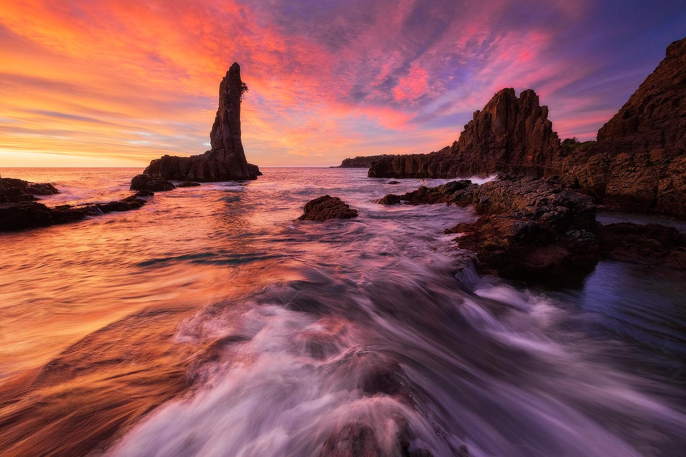 Cathedral Rocks Kiama