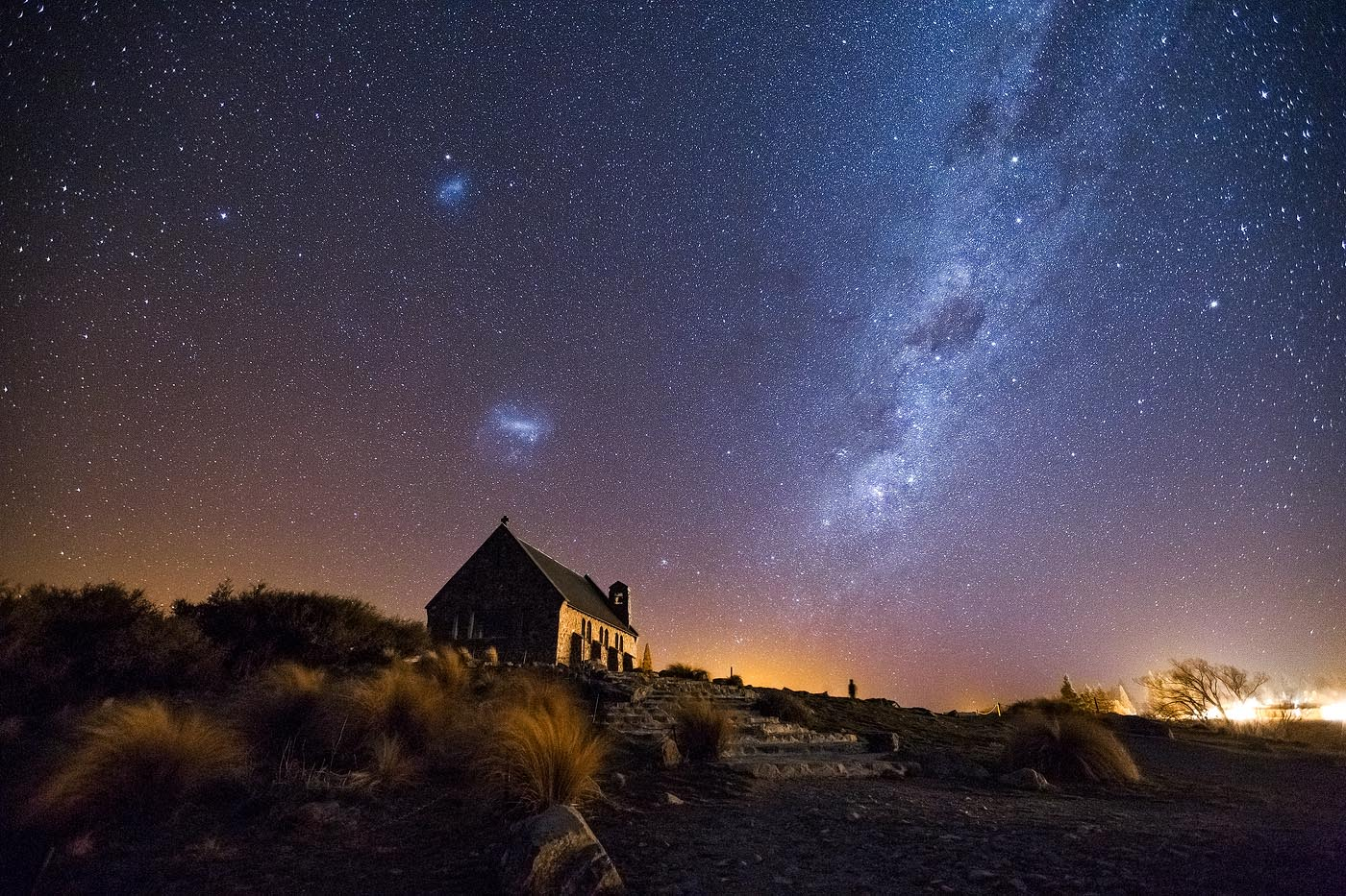 Lake Tekapo Stars Daniel Tran Photography