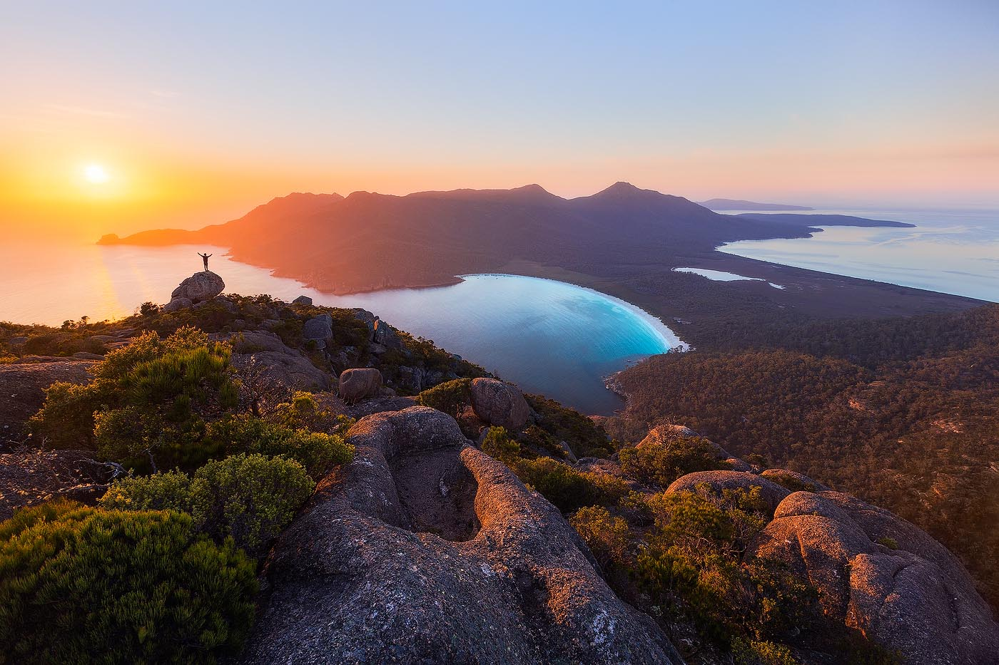 Mount Amos Freycinet National Park Tasmania