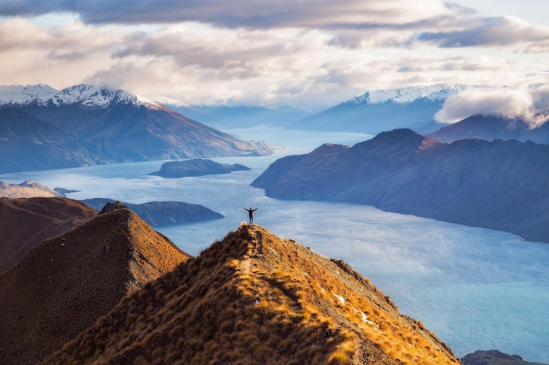 Roys Peak Lake Wanaka New Zealand