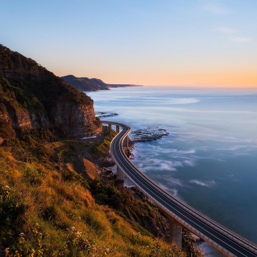 Sea Cliff Bridge New South Wales Australia