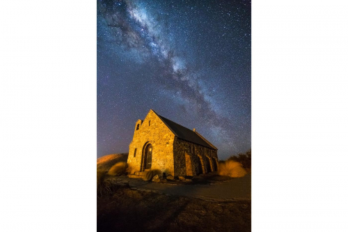 The Church Of The Good Shepherd Lake Tekapo