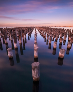 Victoria Melbourne NiSi Filters Australia Seascape Photography Princes Pier