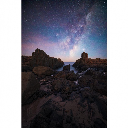 Bombo Milky Way Kiama New South Wales South Coast
